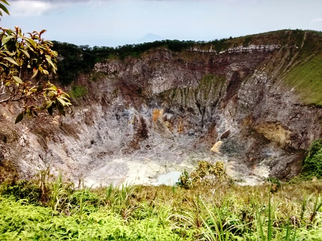 Crater of Gunung Mahawu