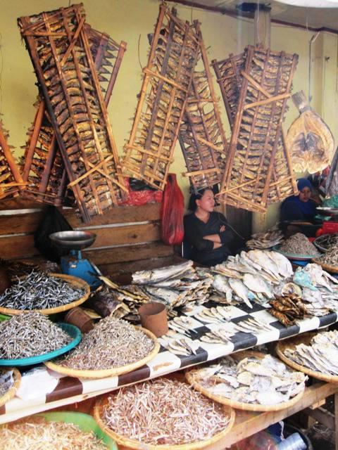 Dried Fish.Tomohon Market.Manado Sulawesi