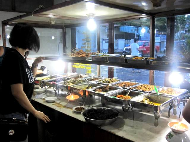 Food Warung selling dog meat