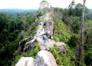 Getting photographed at Bukit Dinding.Balikpapan Kalimantan
