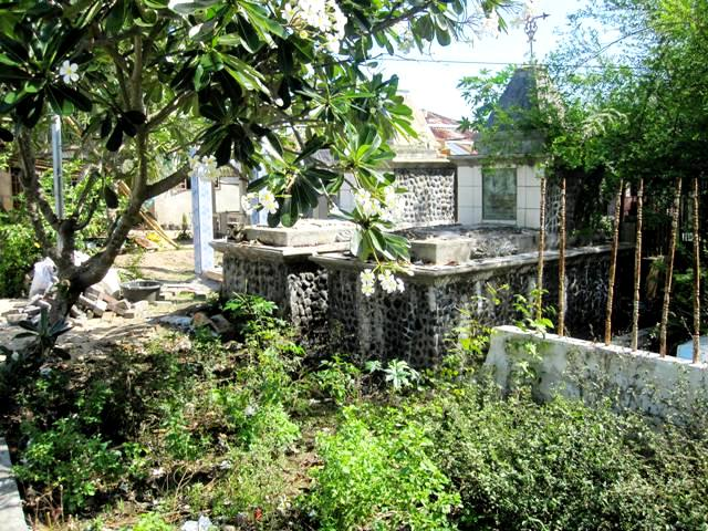 Graveyards on southeast side of Bunaken