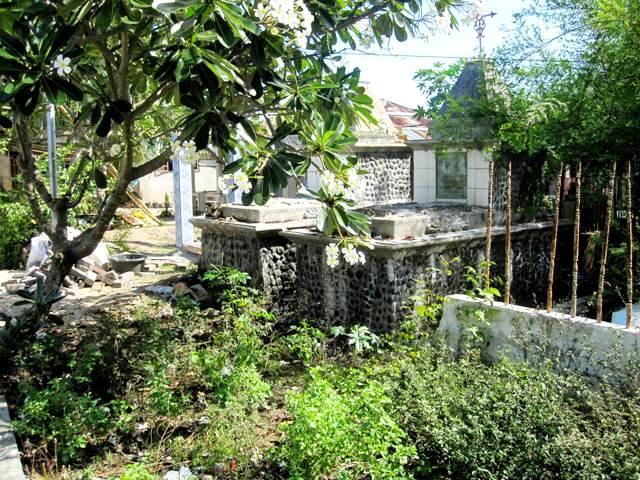 Graveyards on southeast side of Bunaken