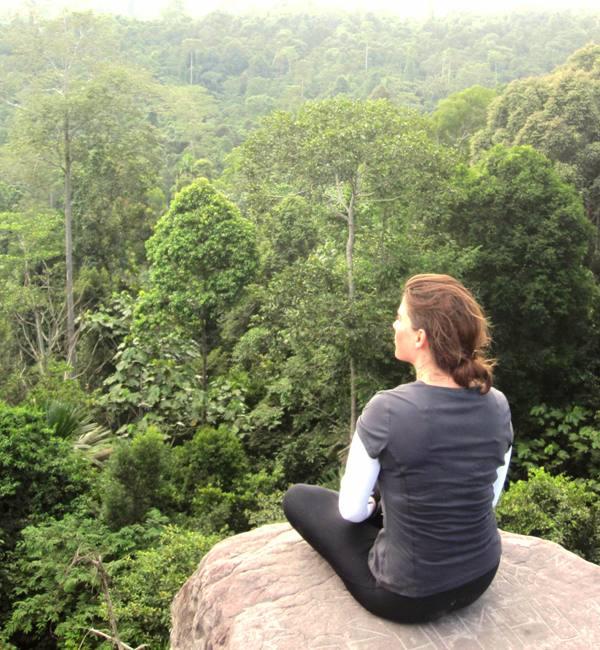 Tonga Time at Bukit Dinding.Borneo, Indonesia