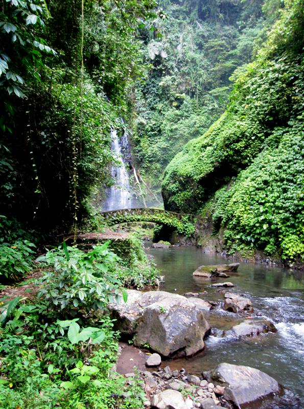 Kali Waterfall.Manado Sulawesi