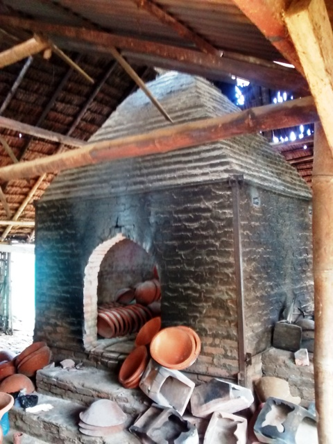 Kiln at Pulutan Pottery Factory