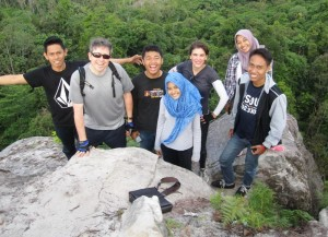 Our new friends at Bukit Dinding