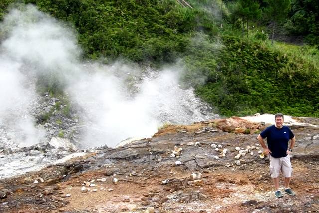 Sam at Bukit Kasih Crater