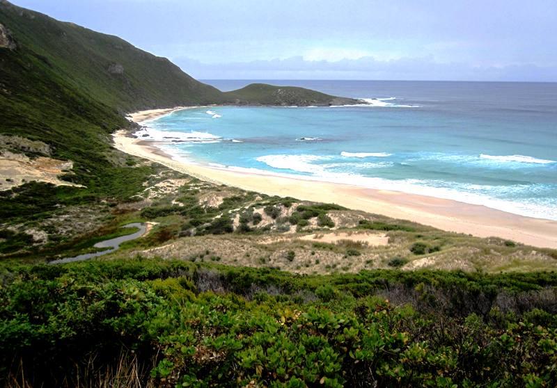 Conspicuous Cliffs Beach view.Western Australia