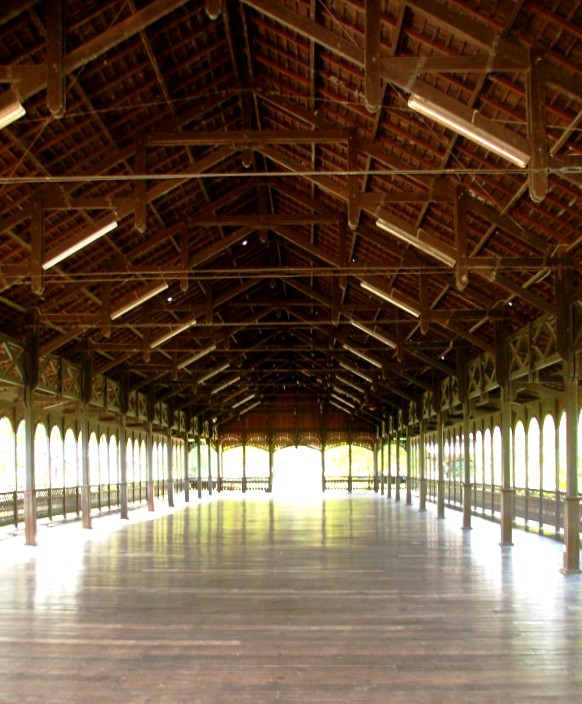 Dyak Longhouse at Sunbear Sanctuary Kalimantan