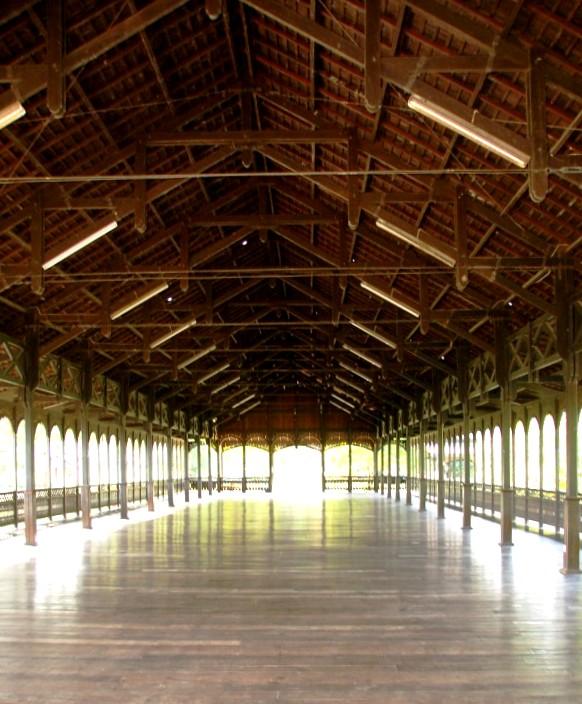 Dyak Longhouse at Sunbear Sanctuary Kalimantan