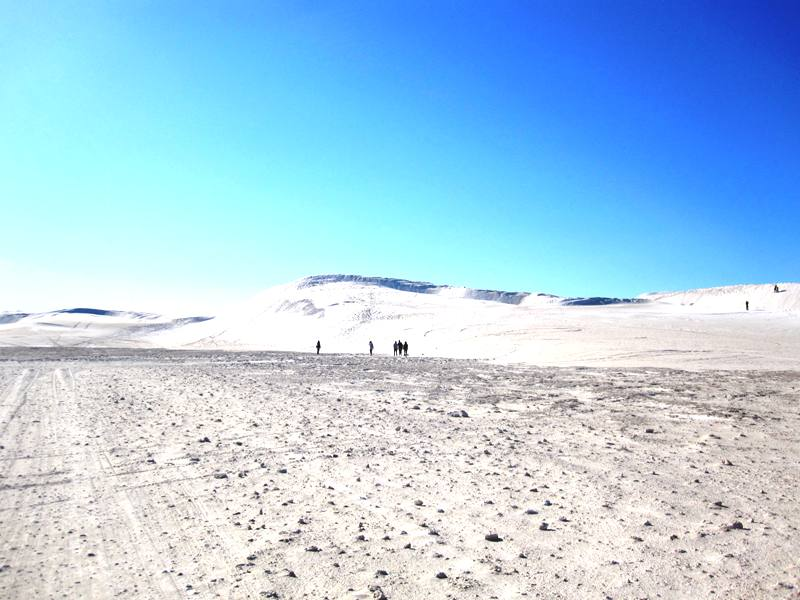 Lancelin Sand Surfing. Walking from closest parking area to the dunes.