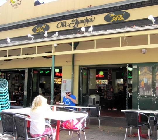 Old Shanghai Food Stalls.Fremantle Markets.Australia