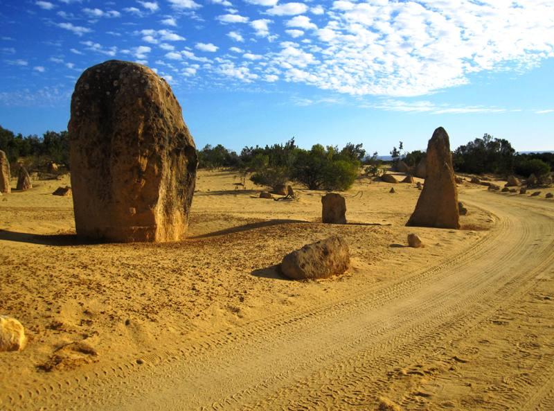 Pinnacles Desert.Western Australia