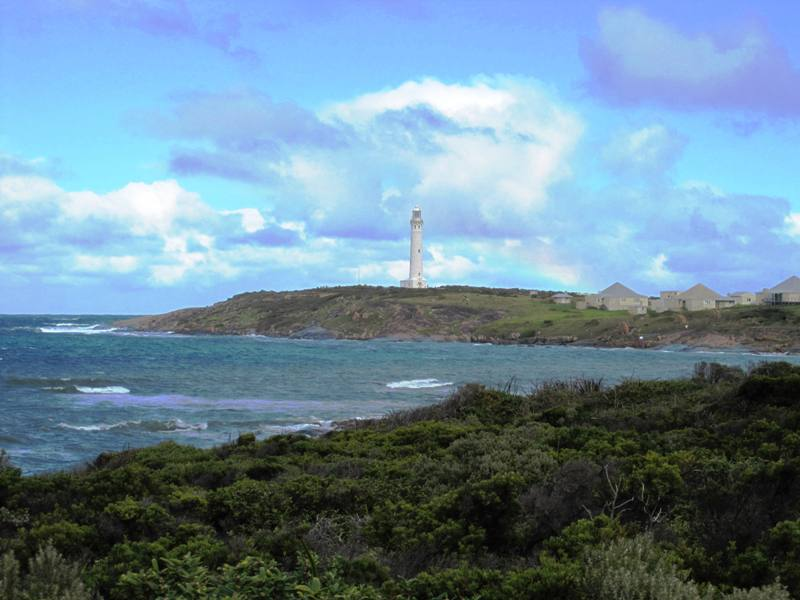 View of Cape Leeuwin Lighthouse.NW Australia