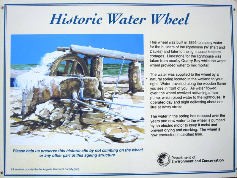 Water Wheel.Cape Leeuwin.Western Australia