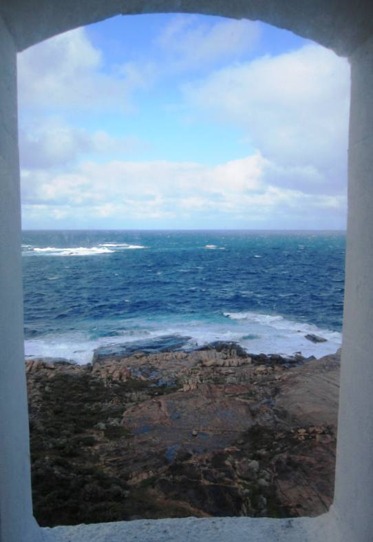 Window View from Cape Leeuwin Lighthouse
