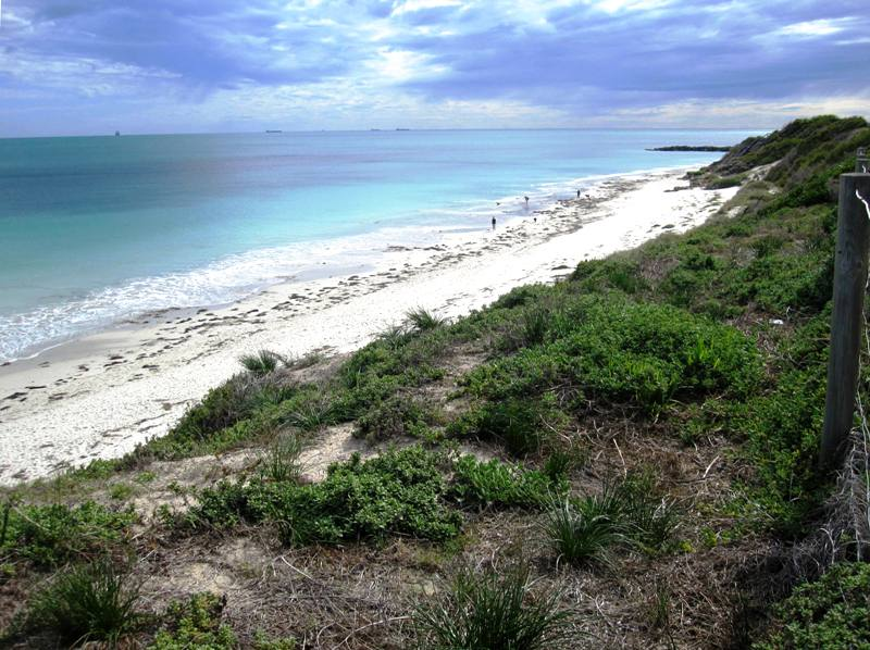Perth and Fremantle Beaches.Western Australia