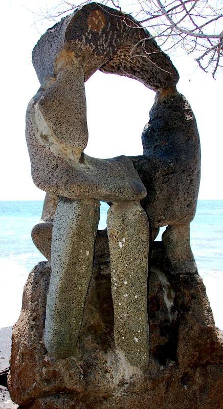 Mysterious statues of Pura Pabean, Pemuteran, Bali