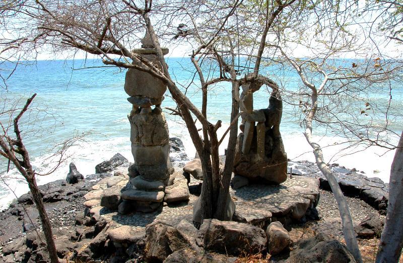 Sea Statues at Pura Pabean.Pemuteran Bali