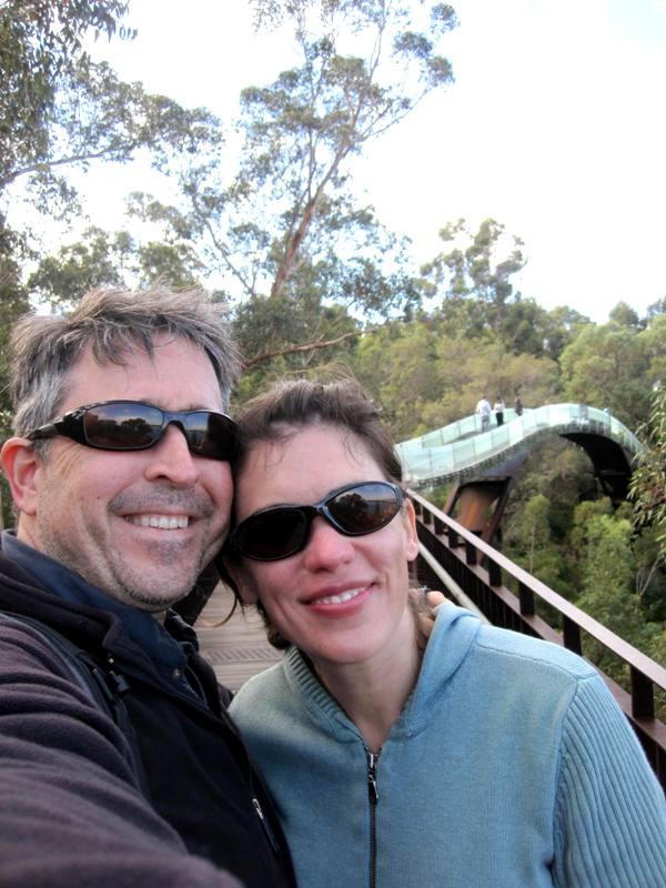 Tonga Time selfie at Federation Walkway.Kings Park.Perth Australia