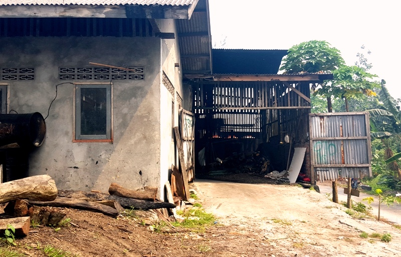 Tofu Factory from the outside.Balikpapan Indonesia