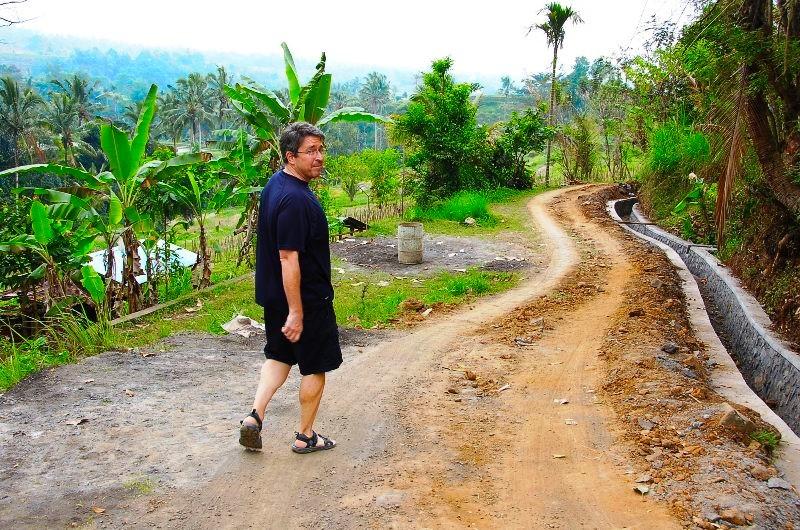 Jatiluwih Walking Path. Bali Indonesia
