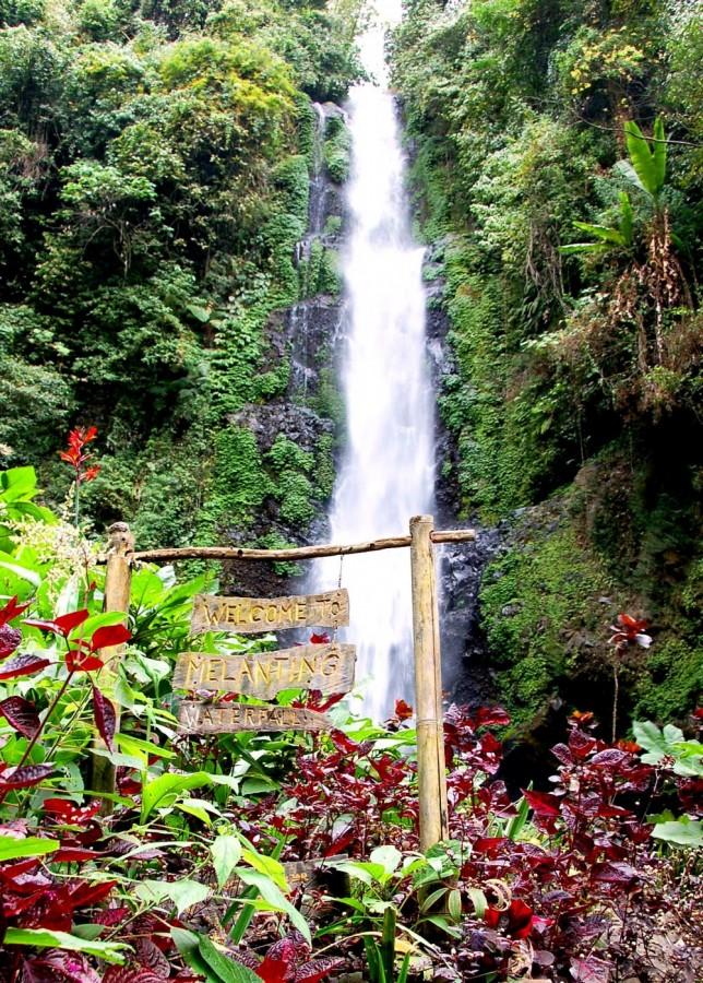 Melanting Waterfall.Munduk Bali