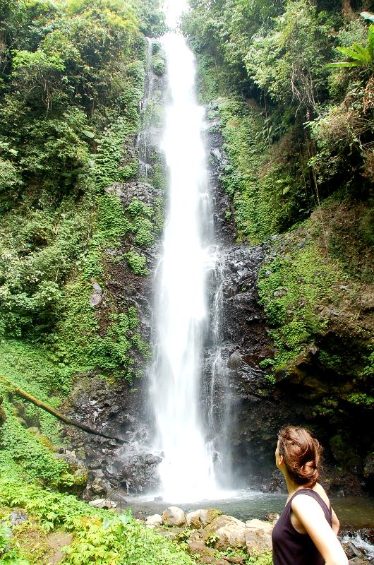 Melating Waterfall.Munduk Bali.