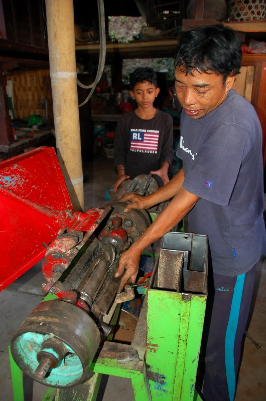 Rice processors.Munduk Bali