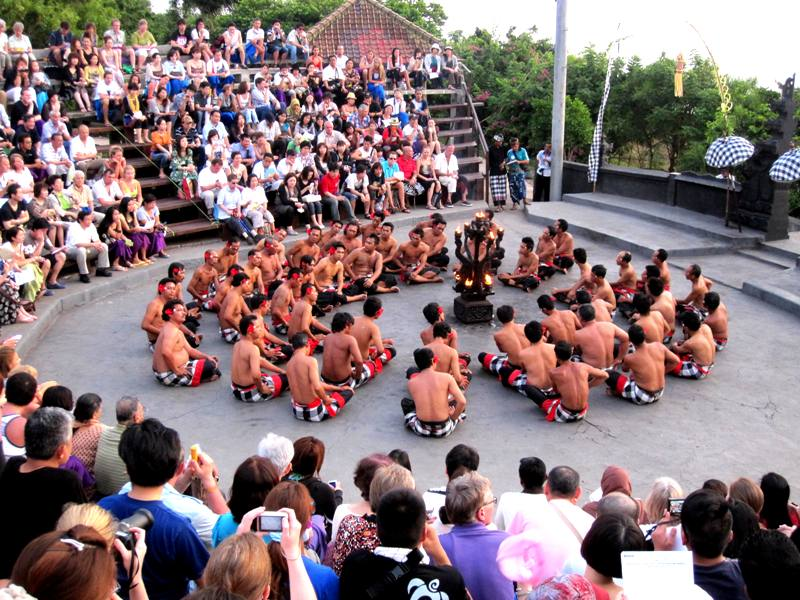 Kecak Dance at Pura Ulu Watu