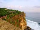 Important Bali Temples: Pura Ulu Watu cliffs.Bukit Peninsula