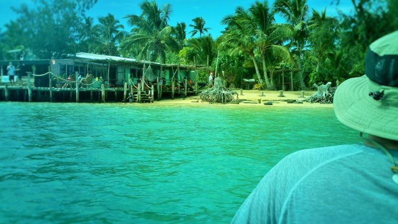 Kayaking to Pangaimotu Island, Tongatapu, Tonga