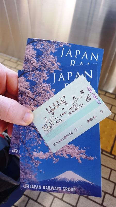 Reserved Train Seats.Japan Rail Pass