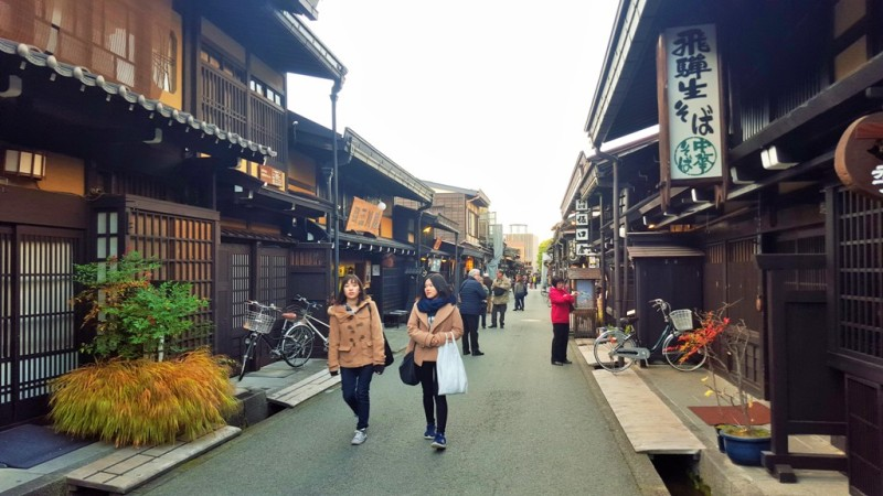 Takayama Old Town Heritage Homes and Shops.800