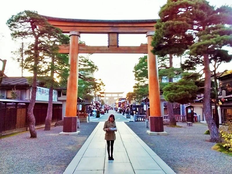 Walking Tour of Takayama.Sakurayama shrine area. Takayama Museum District