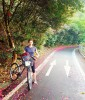 Azalea Petals along the Shimanami Kaido Cycling Route