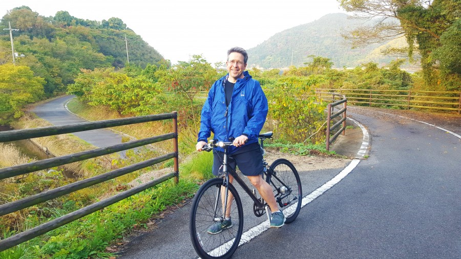 Bike Paths along Shimanami Kaido Cycling Trail