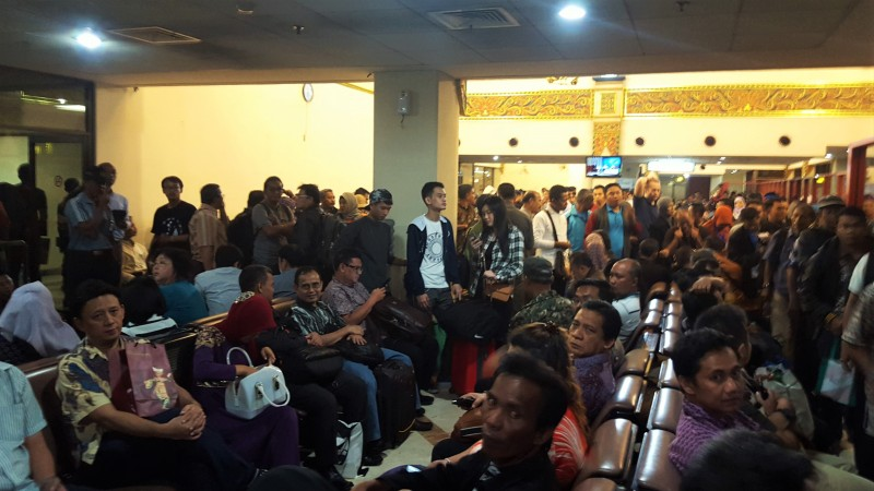 Surabaya Airport on way to Lombok.Indonesia