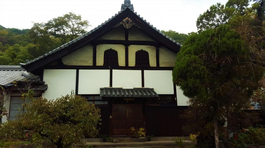 Temple tour stop in Onomichi, Japan