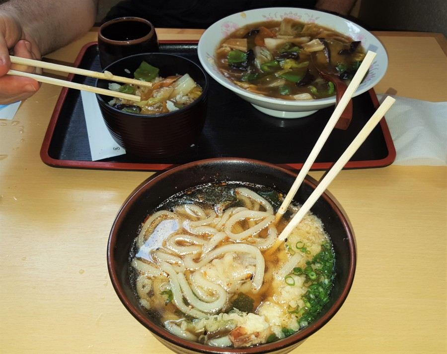 Udon Soup off the Shimanami Kaido Trail, Japan