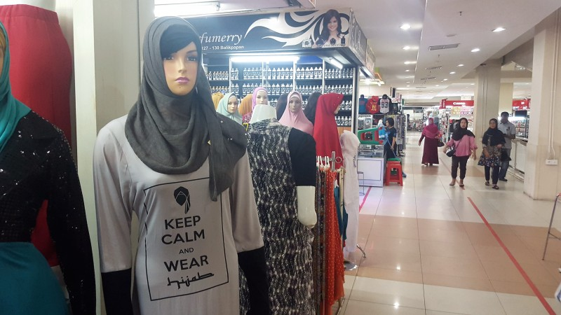 Hypermart Mall Hijab Fashions.Indonesia