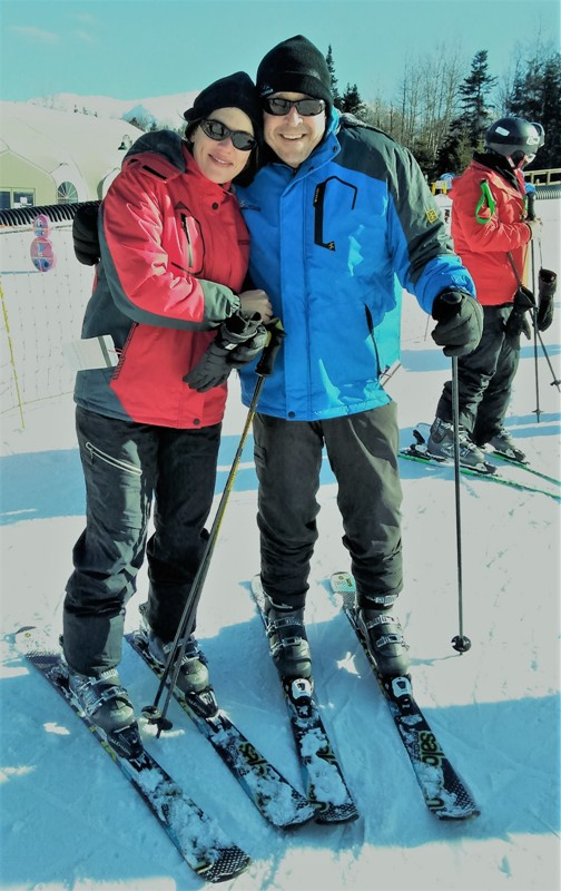 Skate Skis or Short Skis. Learning to Ski at Bretton Woods during Learn to Ski or Snowboard Month.