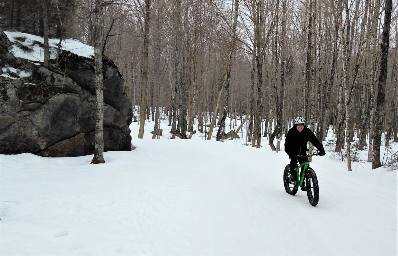 Great Glen Trails cycling and Nordic skiing trails, Gorham NH