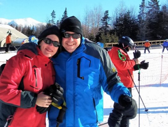 Learning to Ski at Bretton Woods, NH