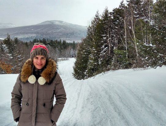 On Moving to the White Mountains of New Hampshire