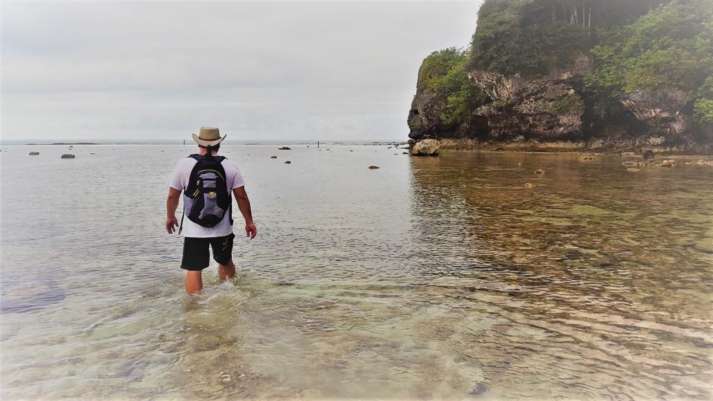 Early Morning walk around Two Lovers Point, Fai Fai Beach, Guam