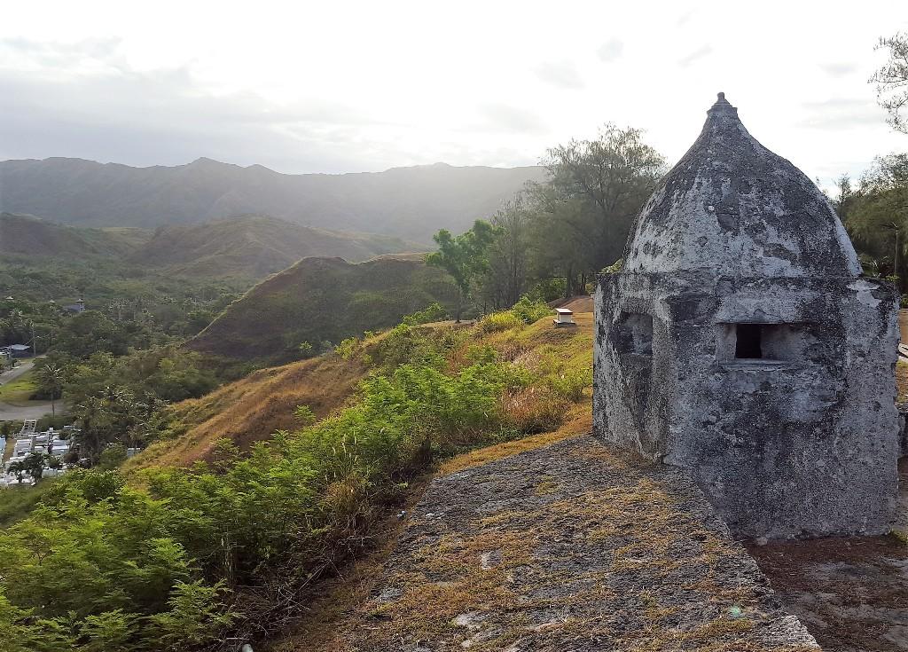 Morning visit to Fort Nuestra, Guam