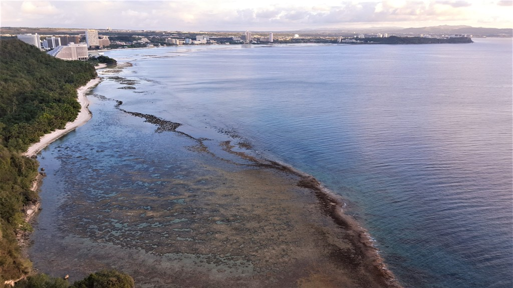 View of Tumon Bay Developments from Two Lovers Point, Guam